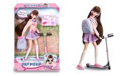 Korean Girl Doll Seventeen MIMI Kickboard  Character Toys