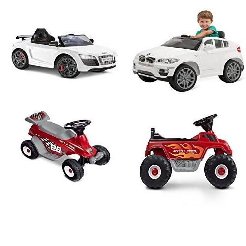 6 for On Car, Fits Kid Frozen Toddler BMX Audi Ride-Ons Power