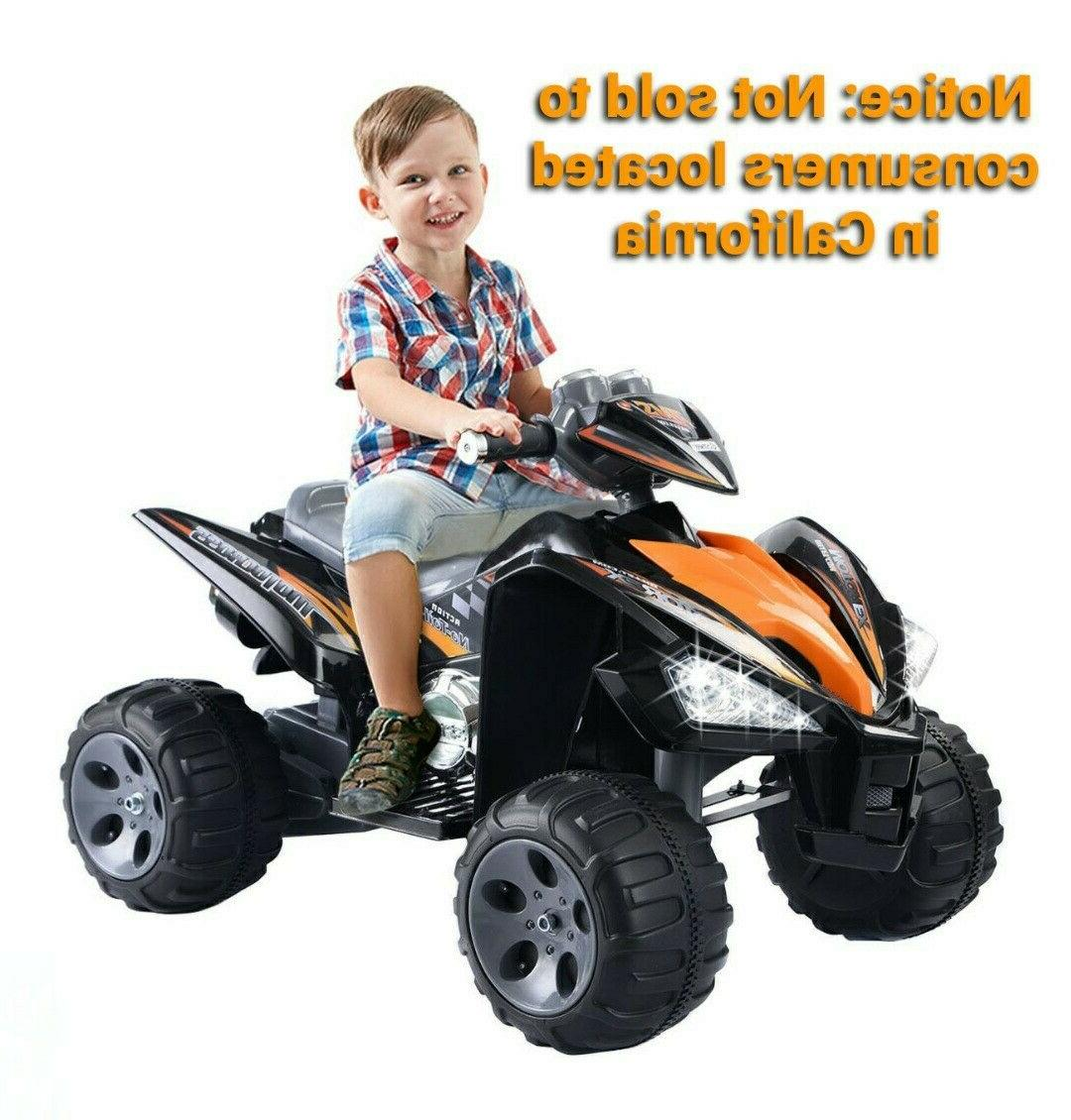 12 v 2 colors kids ride on