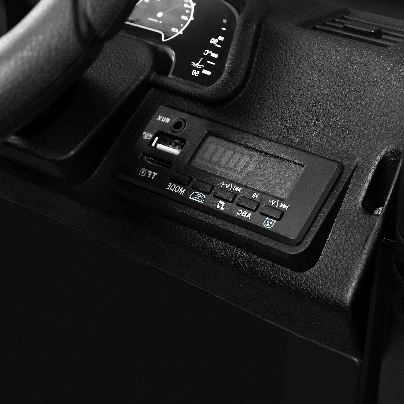 12V Ride on Car Toys MP3 LED Lights