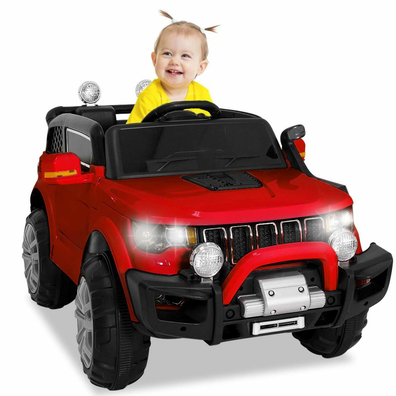 12V Ride Remote Toy Car for Red