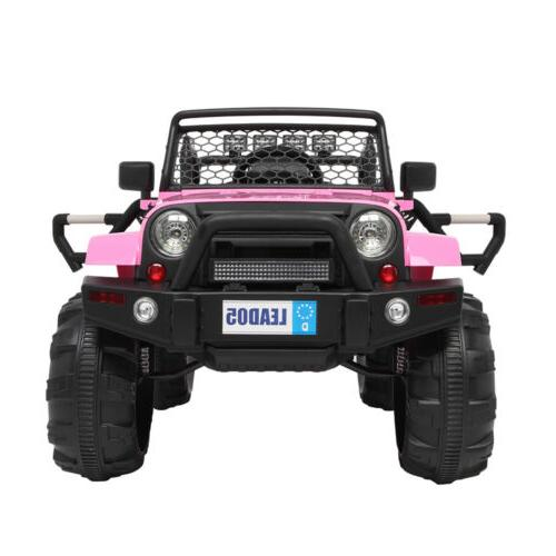 Ride Car Toys Truck LED MP3 Remote