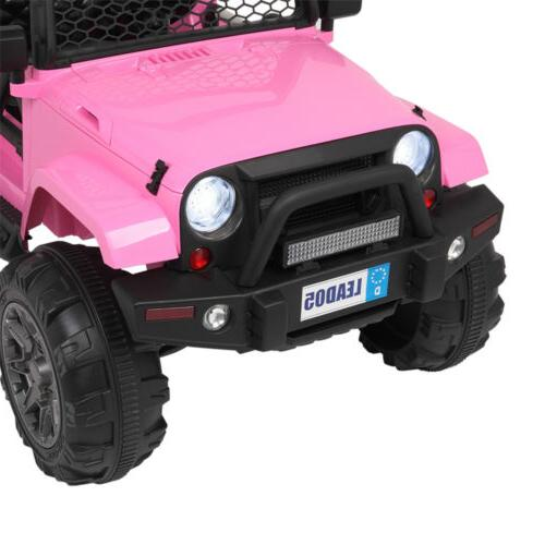 12V Electric Ride on Truck LED MP3 Remote Control