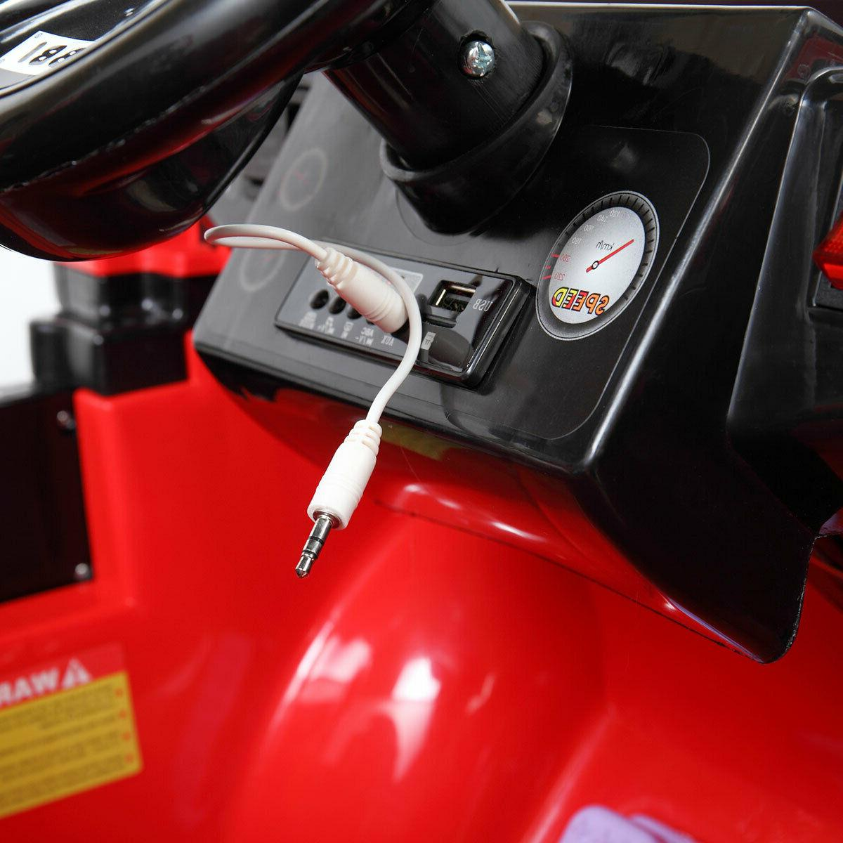 12V Ride On Truck Style Remote MP3