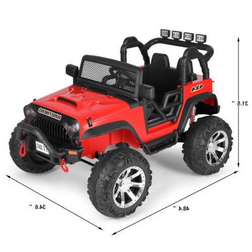12V Ride Truck Toy Auto Return Spring Suspension