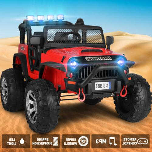 12v electric jeep kids ride on truck