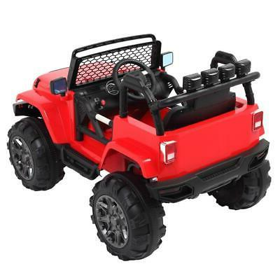 12V on Car Toys Jeep Truck Music Remote Control