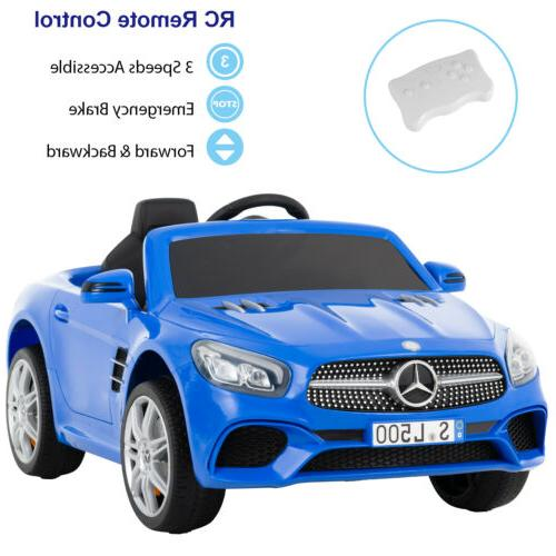 12v Kids Ride On Cars Electric Double-drive Police Car Music