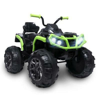 12V Kids Electric ATV Ride On Toy Car Battery w/ 2 Speeds, L