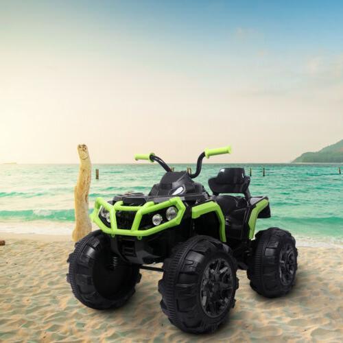 12V Kids ATV Ride-On Toy w/ Lights, Sounds
