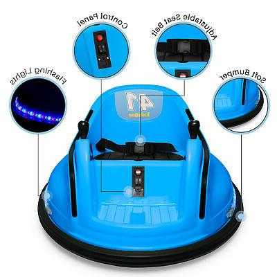Kidzone 12V Ride On Bumper Car 360 ASTM-Certified, Colors