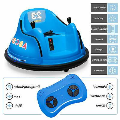 Kidzone 12V Ride Car 360 Spin, ASTM-Certified, Colors