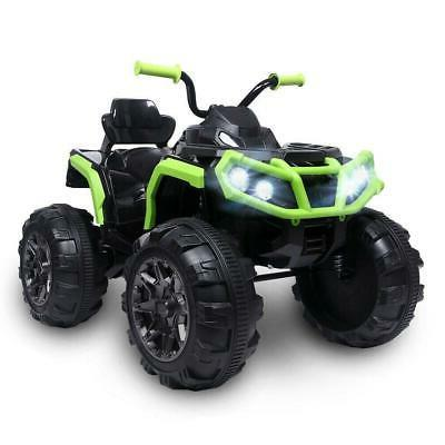 12V ATV Car Quad Wheels Suspension Toy W/
