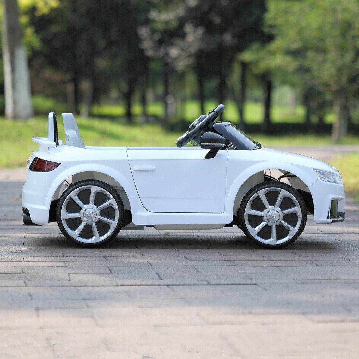 12V Kids Ride Audi RS Toys Motor Remote