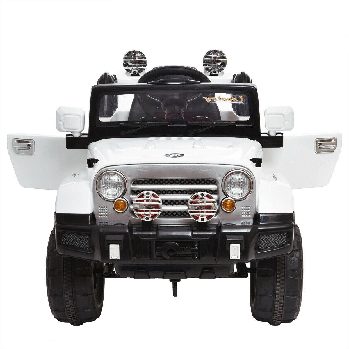 12V Kids Ride Car Truck MP3