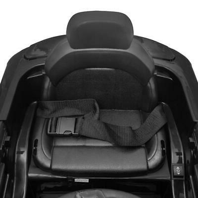 12V Ride Car Car LED Remote Black