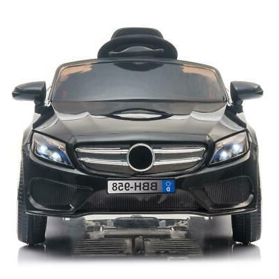 12V Car Electric LED Lights Remote Control Black