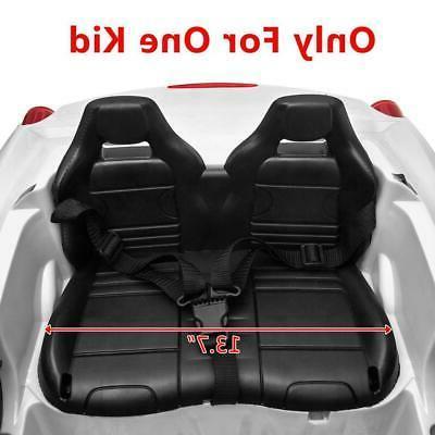 12V Car Birthday White w/ Remote Control