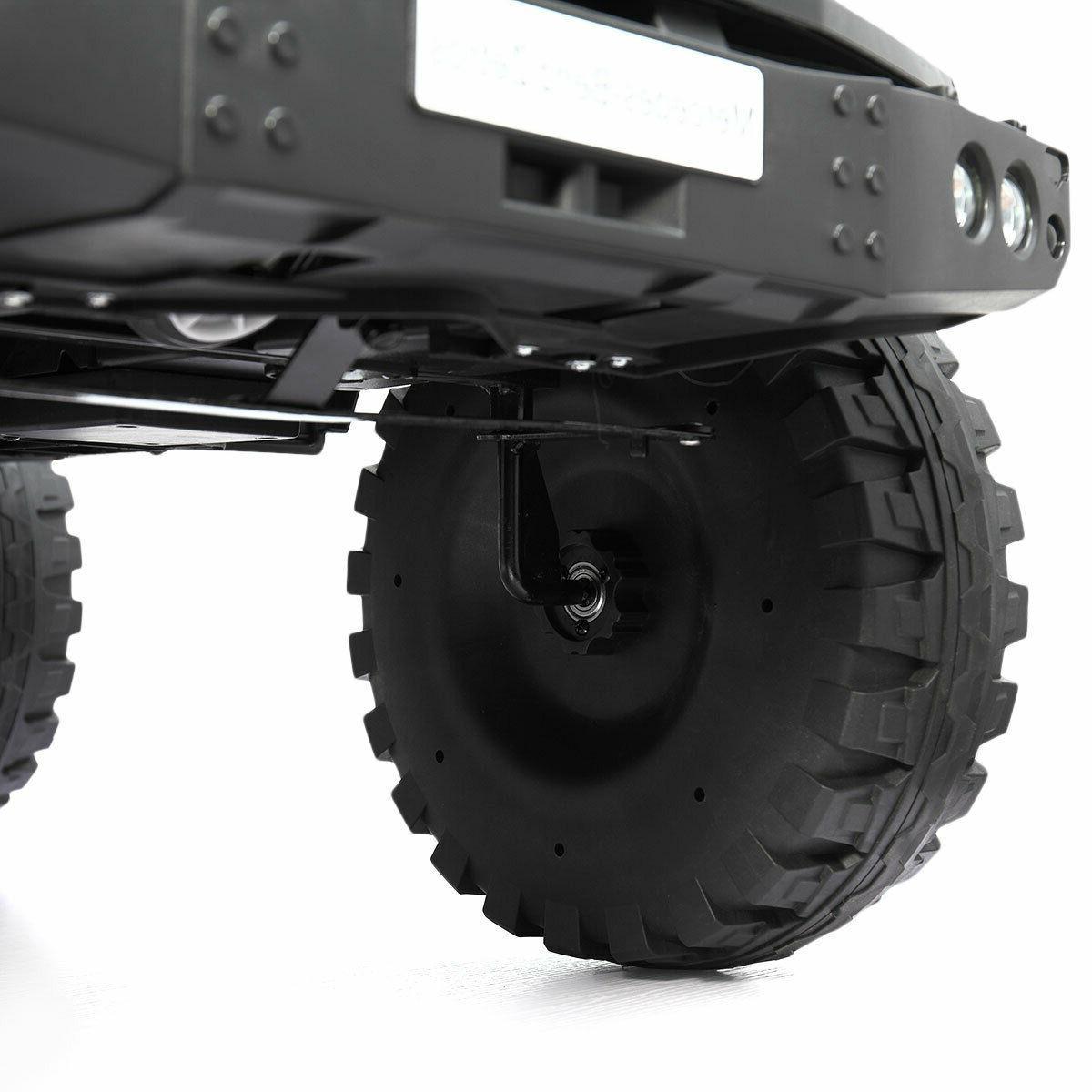 Car Electric Battery Power w/MP3 LED Control Black