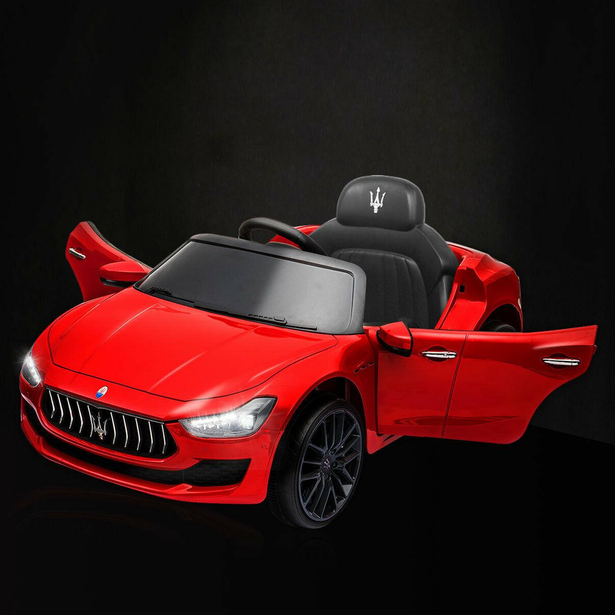 12v kids ride on car maserati license