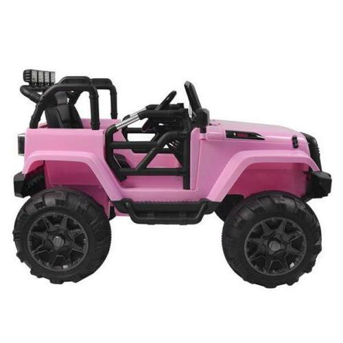 12V Kids Car Remote 4-wheel Drive Jeep