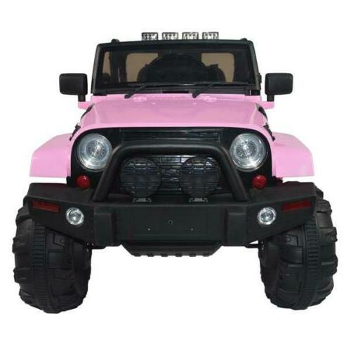 12V Car SUV Speed Remote LED 4-wheel Drive Toy