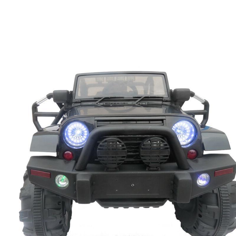 12V Kids Ride on Car SUV MP3 Remote LED 4-wheel Jeep Toy