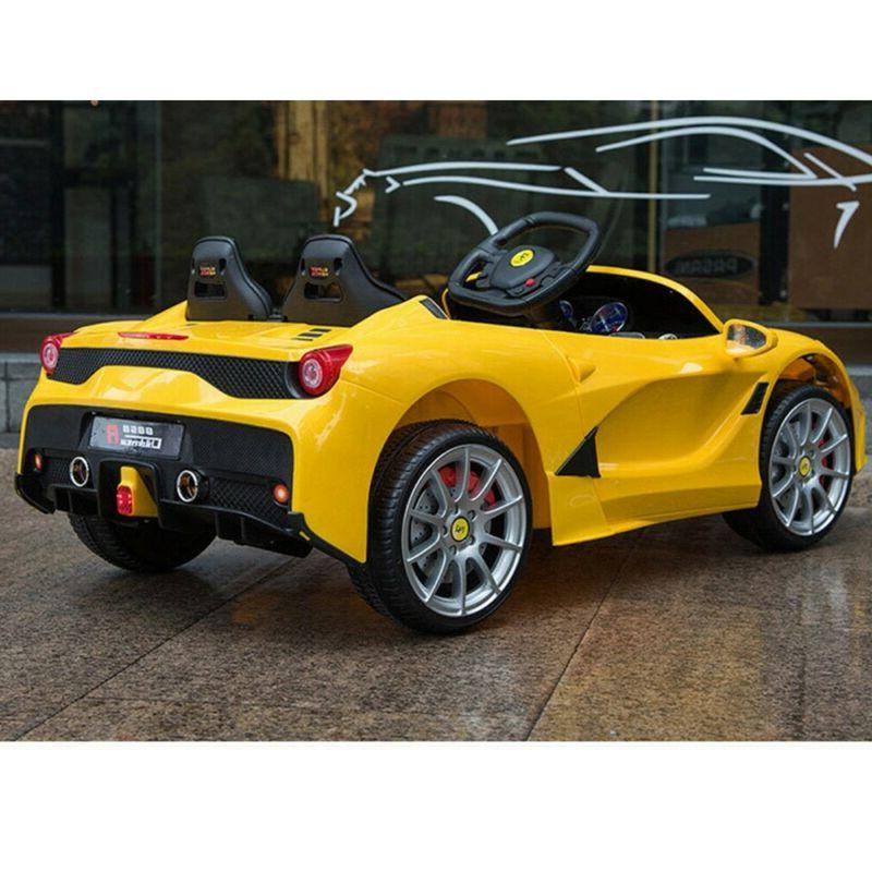 12V Car Electric W/MP3 3 Yellow