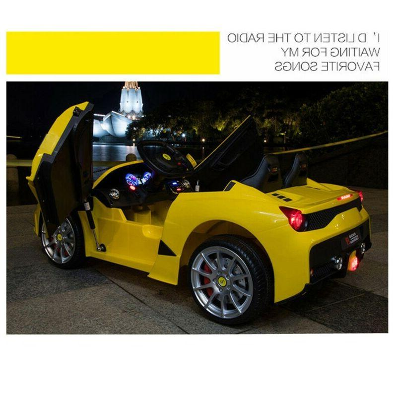 12V Car W/MP3 Speed Yellow