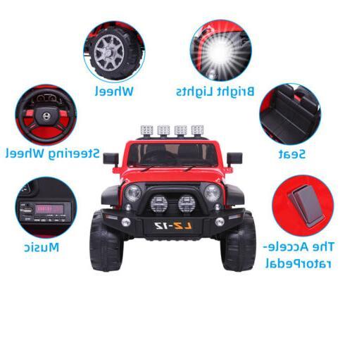12V Ride Car Power Remote