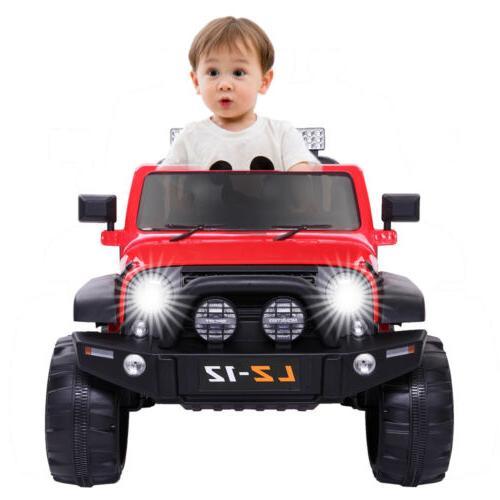 Car Power w/ Safe Parent Remote Control Red