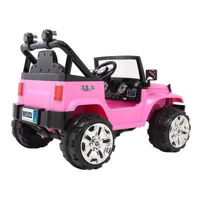 12V Kids Ride Car Truck Toys Electric 3 with Remote Control