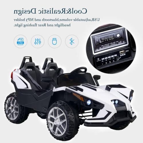 Electric on Car Racing Light Music White
