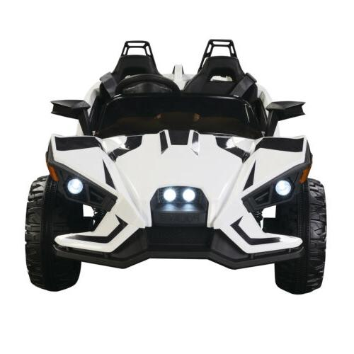 Electric 12V on Racing RC Light Music White