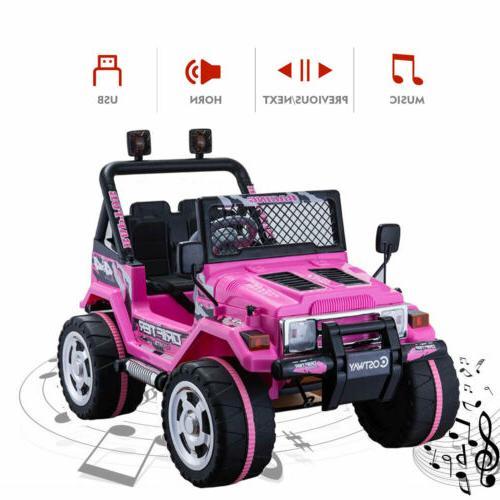 12V on Cars W/Remote 3 LED Light