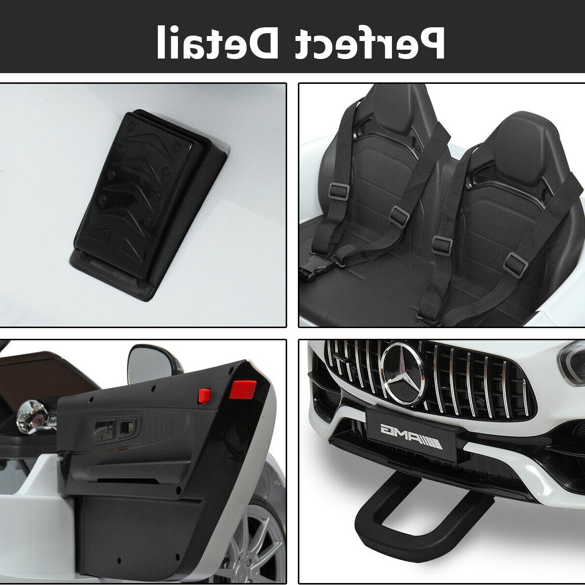 12V Ride Mercedes Led MP3