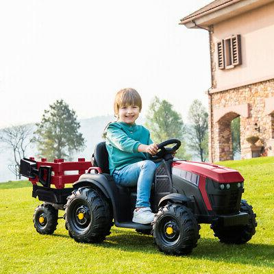 12v kids ride on tractor car toys