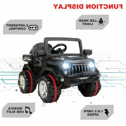 12V SUV Style w/ Control Bk