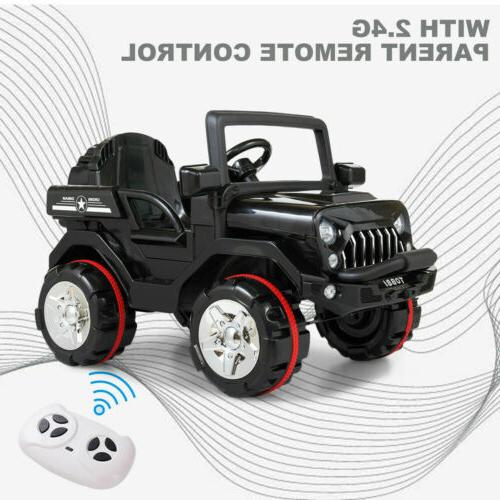 12V Kids On Truck Car SUV Style w/ Control MP3 Bk