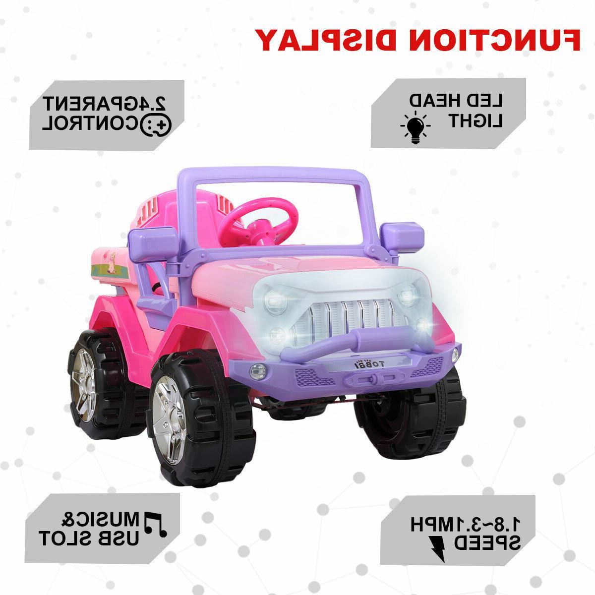 12V Ride Truck Car SUV Style w/ Remote Control