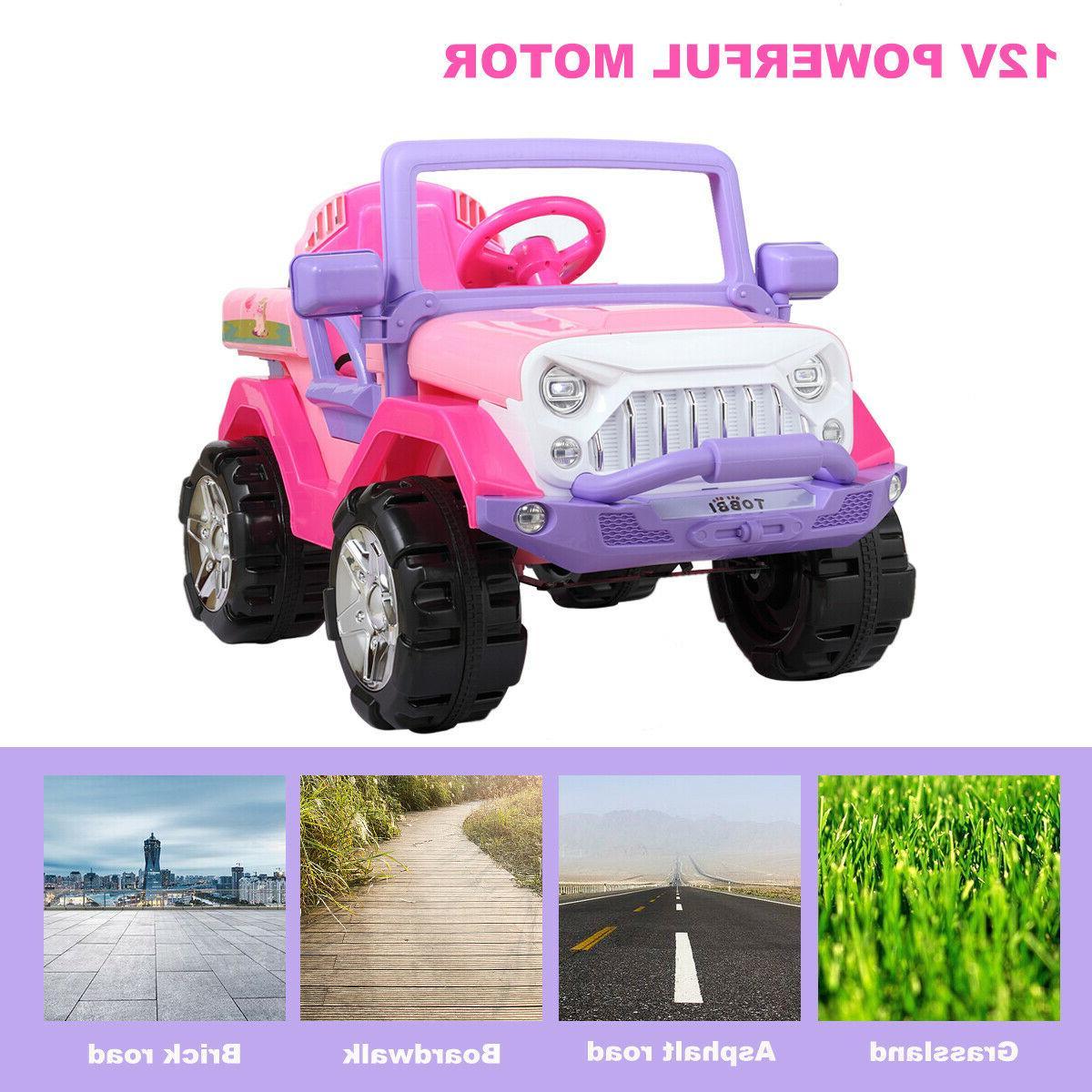 12V Kids Ride Truck Car SUV w/ Control