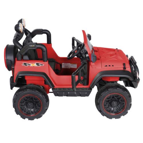 12 Volt Truck 2 Seat Ride On Toy Car for Kids MP3 Music Play