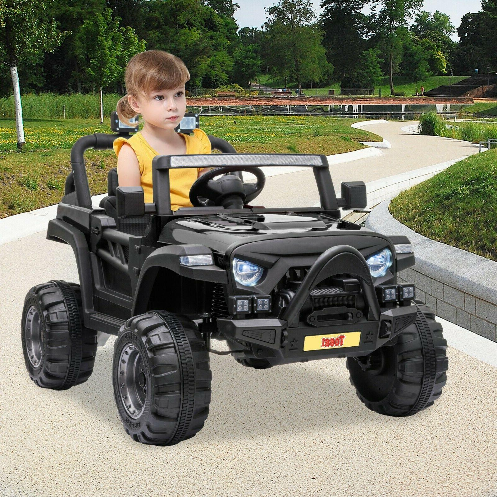 12V On Truck Remote Control Battery Powered Toy Car