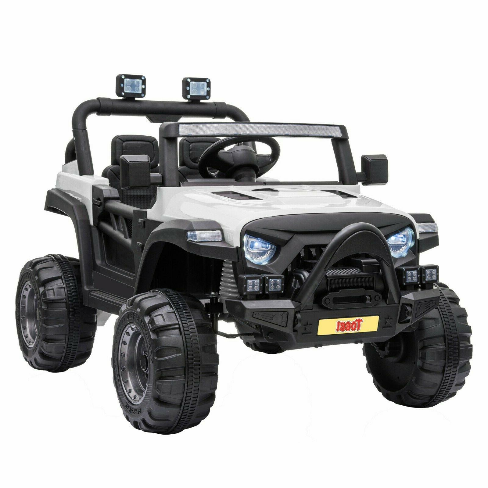 12V Kids Truck with Control Battery Powered Ride Toy Car