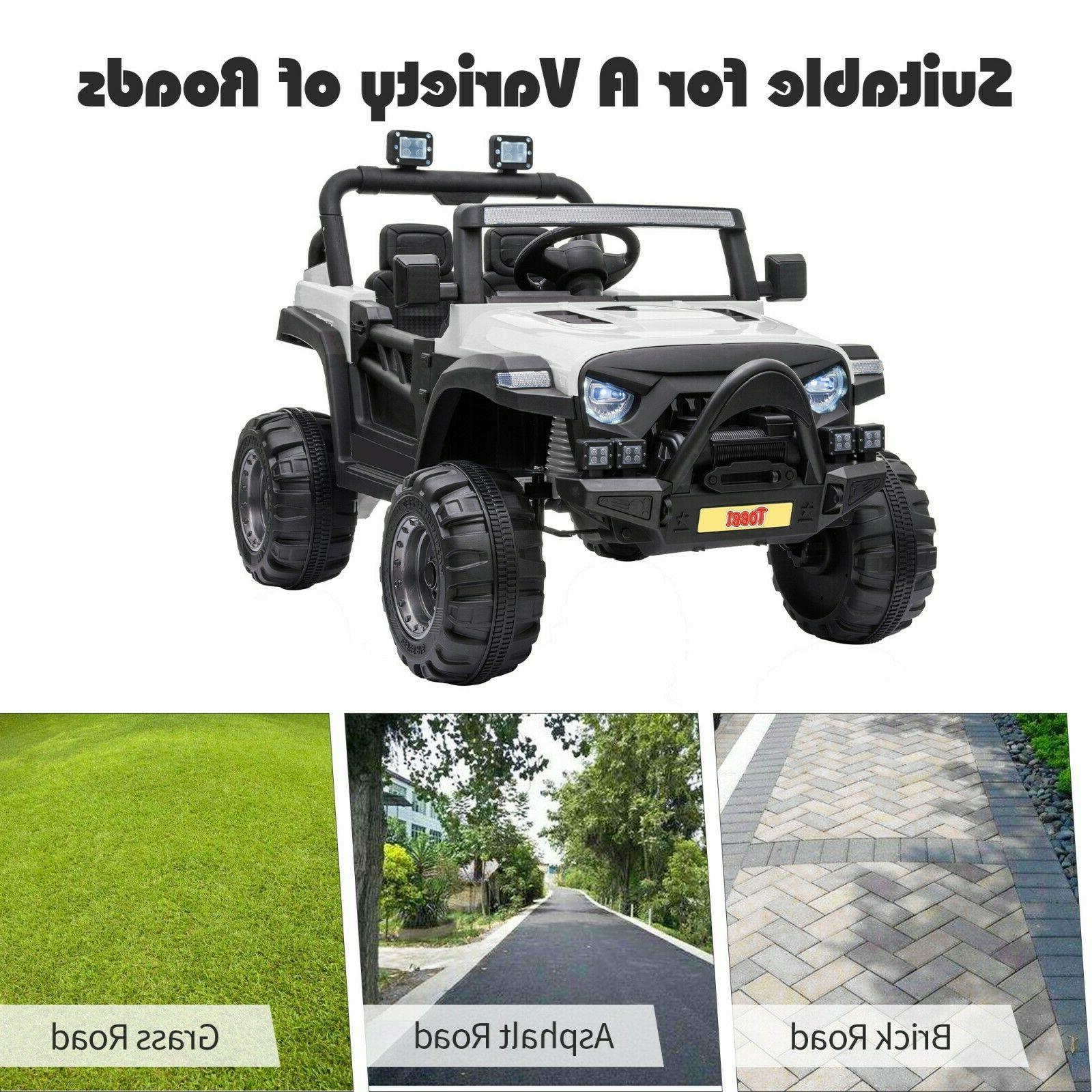 12V Ride Truck with Remote Toy Car