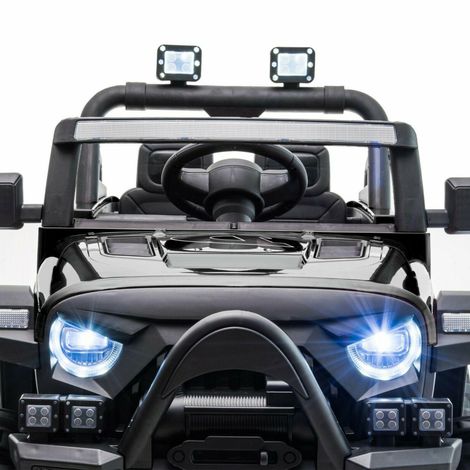 12V Kids Ride On Truck with Remote Battery Powered on Toy