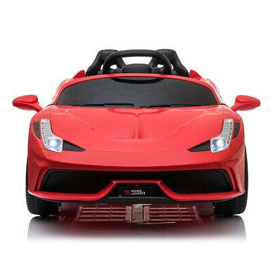 12V on Red