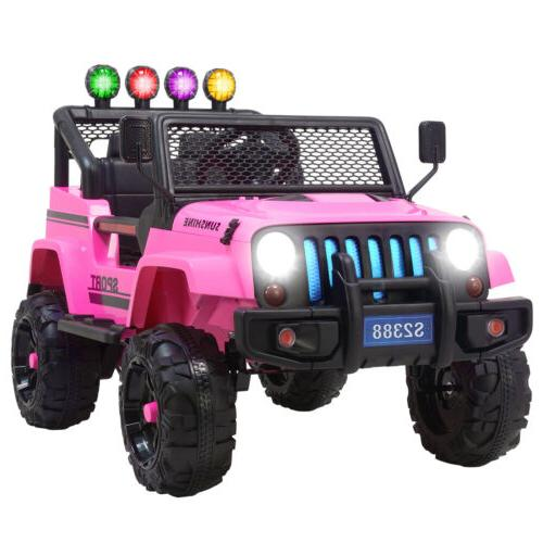 12v kids ride on car jeep wrangler