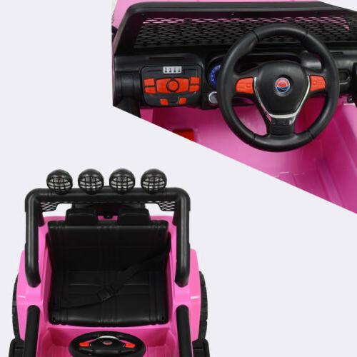 12V Kids Ride on Toys Electric Speed