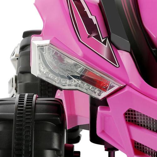 12V Ride Car ATV Toy Wheeler Lights